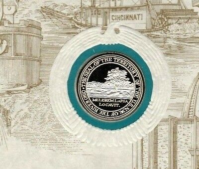 Historic Silver Seal of the State of Ohio OH