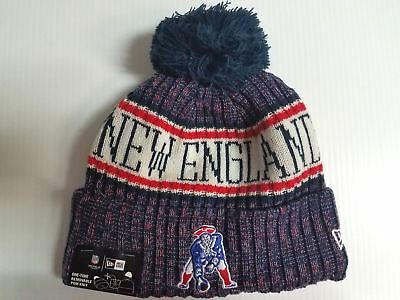 New England Patriots TB Era Knit Hat On Field 2018 Sideline Beanie Stocking Cap