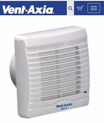 Vent-Axia VA100SVXH12 Axial Bathroom/Toilet Fan NEW SEALED BOXED, Bathroom Fan,
