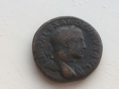 nice looking old large size heavy roman coin or other