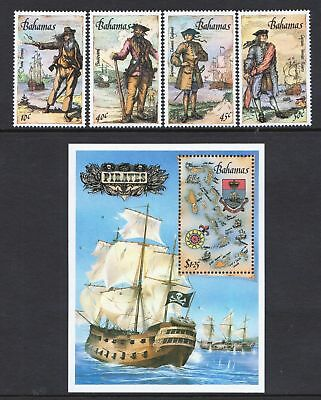 Bahamas 1987 Pirates and Privateers - MNH Stamps & Sheet - Cat £52.50  - (188)