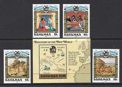 Bahamas 1988 Discovery of America (1st Series) - MNH Set - Cat £12.50 - (192)