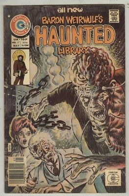 Baron Weirwulfs Haunted Library #27 VG May 1976 Tim Sutton cover and art