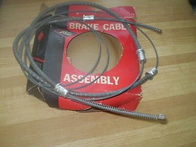 1955-56 Ford Rear Brake Cable In Box Fits Passenger Models 'bx-948