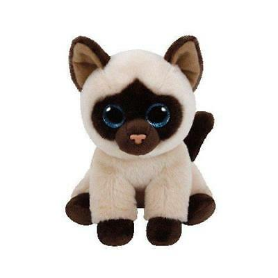 Ty - TY42129 - Beanies - Peluche Jaden le Chat Siamois