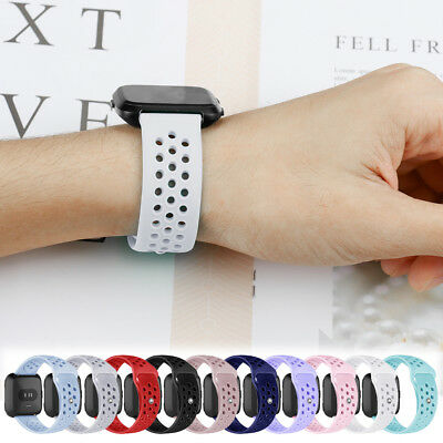 For Fitbit Versa!Accessory L/S Soft Hollow Bracelet Wrist Band Strap Wholesale