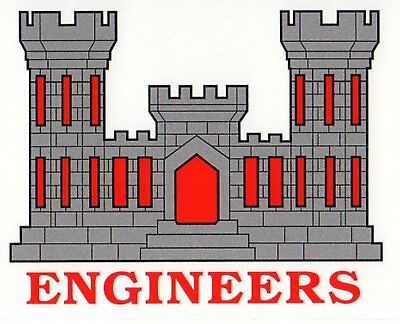 Army Engineers Decal