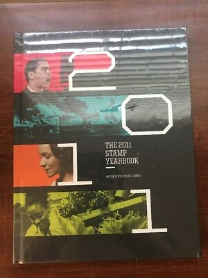 2011 Stamp Commemorative Yearbook Sealed USPS