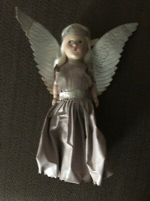 Vintage Christmas Tree Topper Angel Composition/paper