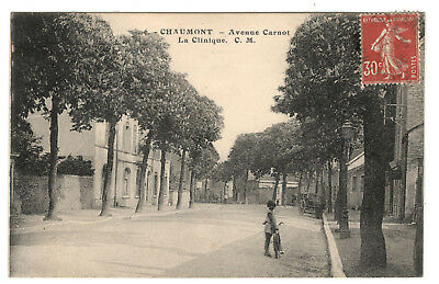 Cpa 52 - Chaumont