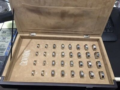 Crown Ring sizing kit in case  3 1/2 to 16