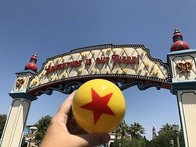 VERY RARE Disney Pixar Just Released LUXO Jr. Inflatable Ball Brand New DCA Fest