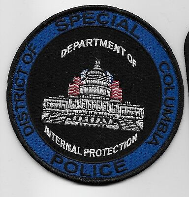 Wash Dc Special Police Scenic patch Police Sheriff State WA DC
