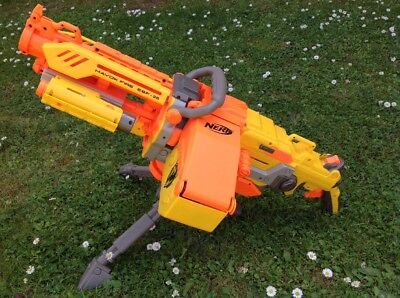Nerf Havok Fire EBF-25 With Working Laser Sight & Belt TESTED FULLY WORKS