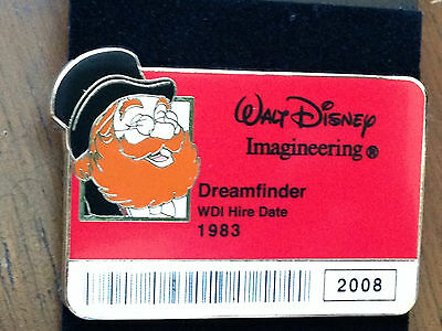 Disney WDI - I.D. Badge Series 2 - Figment Dreamfinder Pin LE 300