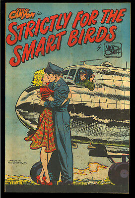 Steve Canyon in Strictly for the Smart Birds #nn Harvey File Copy 1951 NM-