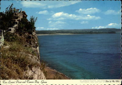Guam Two Lovers' Point-or Two Lovers' Leap Postcard Dexter Press Inc.