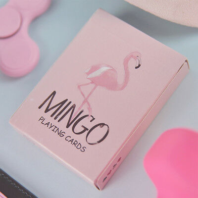 1 Deck MINGO Playing Cards Flamingo Poker Magic Tricks The Best Gift For Girls