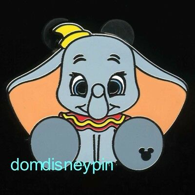 Disney Pin WDW 2018 Hidden Mickey Collection *Plush Characters* Dumbo!