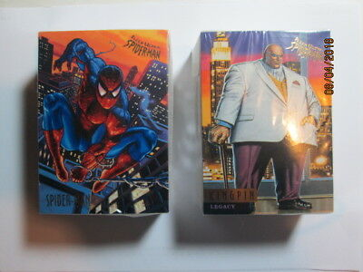 1995 Fleer Ultra Spider-Man Premiere - Complete Base Set ( 150 ) Cards