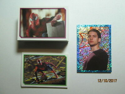 2002 Spider-Man The Movie - Complete Set Of 168 Stickers - Merlin