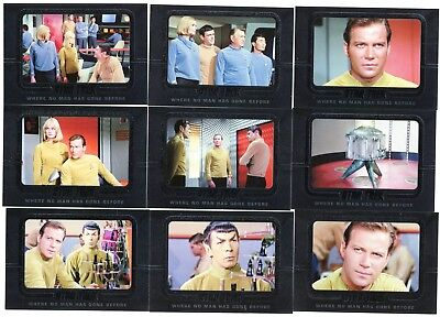 2018 Star Trek TOS Captains Coll Where No Man Has Gone Before 70 card Insert Set
