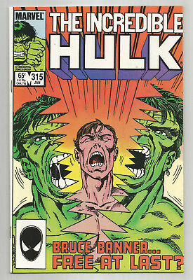 Incredible Hulk # 315 * John Byrne * Near Mint
