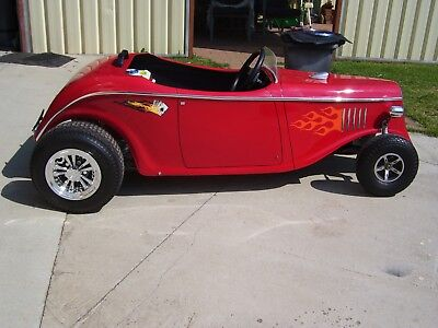 Adult Size  Red Mini Hotrod All Brand New 95 % Completed See Add