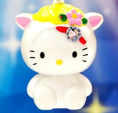 Hello Kitty X Cute Goat Baby Swarovski Elements Crystals Japan Pendant Charm
