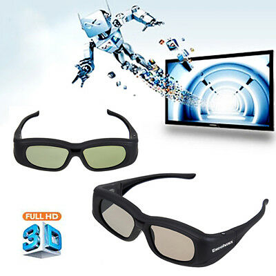 3D Bluetooth Rechargeable Active Shutter Glasses for Sony/Sharp/Samsung 3DTV Hot