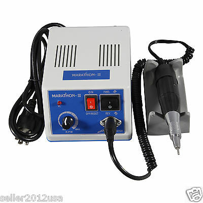 Dental Lab Micromotor Polisher Marathon N4 +Clinical Handpiece 35K RPM 35000