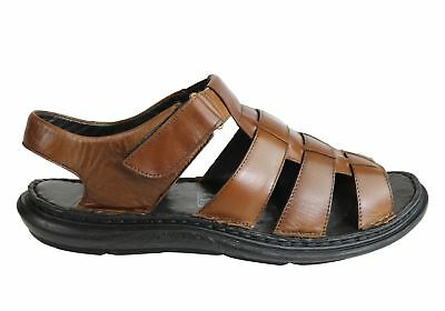 877d4f7c24f7 New Savelli Kain Mens Leather Comfortable Cushioned Sandals Made In Brazil