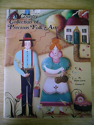 A Country Collection of Precious Folk Art ~Candle Stand~Salt Box~Santa~Cupboard