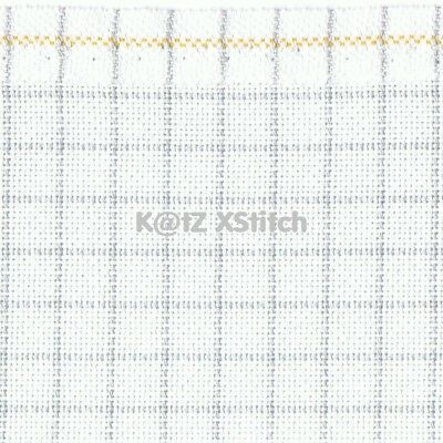 ZWEIGART 25ct WHITE EASY COUNT EVENWEAVE CROSS STITCH FABRIC -  Various Sizes*