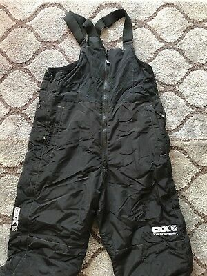 Womens CKX Bibs Snowmobile Insulated Overalls Snow Ski Pants Snowmobiling Large