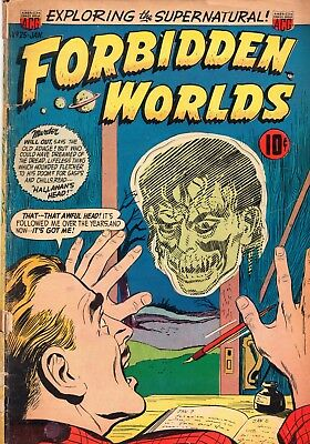 Forbidden Worlds Comic Book #25 - Golden Age