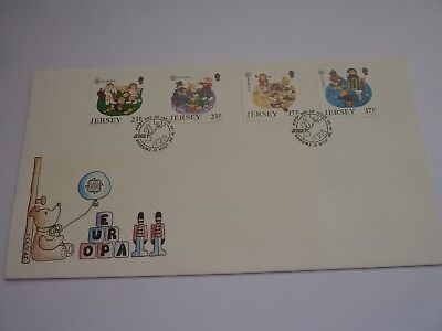 Jersey Children's Toys 1989 FDC