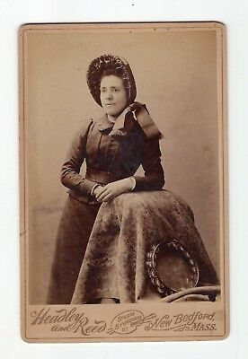 1890 Cabinet Photo Female Salvation Army Worker