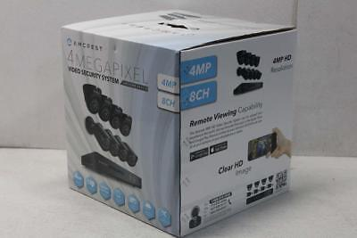 Amcrest UltraHD 4MP 8 Channel Video Security System