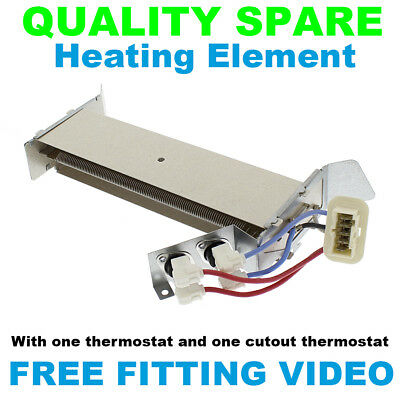 Heater Heating Element for BEKO Tumble Dryers with Thermostats DRCS76B DRCS76S