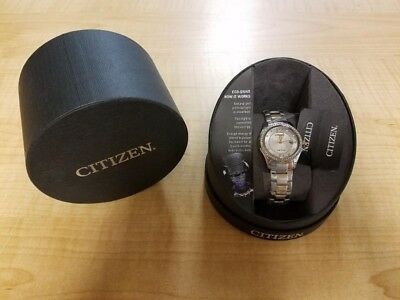 Citizen Eco-Drive Women's Two-Tone Crystal Watch FE1144-77A