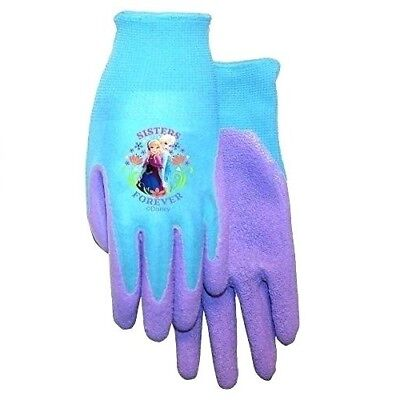MidWest Brand Disney Frozen SISTERS FOREVER Jersey Garden Work Youth Gloves A218