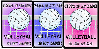 Personalized Volleyball Magnet