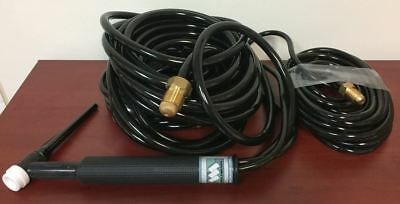 18-25  TIG Torch 350amp Water Cooled - 25' by CK Worldwide for Weldmark