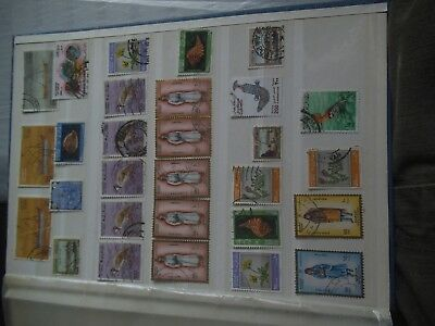 A selection of Sultanate of Oman stamps