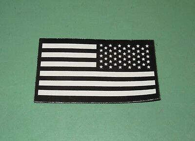 US Military Issue IR United States Reverse Flag Combat Uniform Patch Infrared