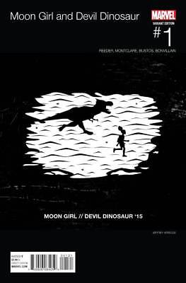 Moon Girl and Devil Dinosaur 1 B Hip Hop variant first app Lunella Lafayette 1st