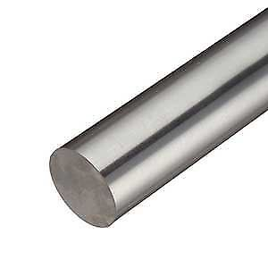 304 Stainless Steel Round Rod, Diameter: 1.000 (1 inch), Length: 36 inches