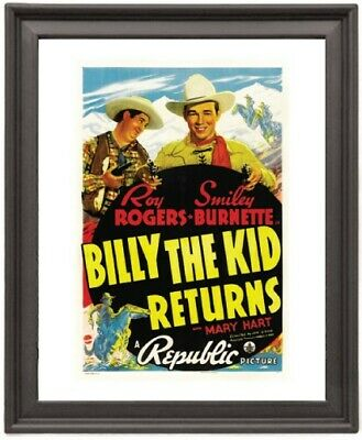 Billy the Kid Returns  - Picture Frame 8x10 inches - Poster - Print - Poster - P