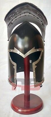 Unique Medieval Barbute Helm Armour with Inner Liner